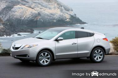 Insurance quote for Acura ZDX in Colorado Springs