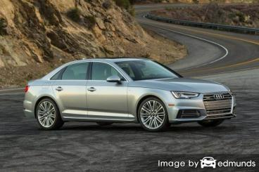 Insurance quote for Audi A4 in Colorado Springs
