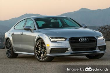 Insurance quote for Audi A7 in Colorado Springs