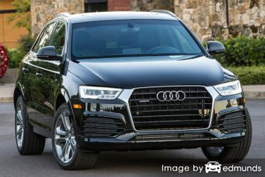 Insurance quote for Audi Q3 in Colorado Springs