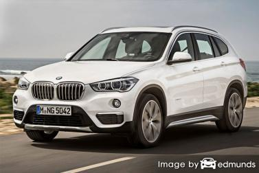 Insurance quote for BMW X1 in Colorado Springs