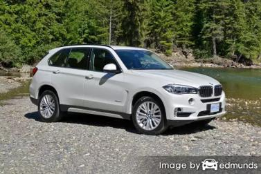Insurance quote for BMW X5 in Colorado Springs