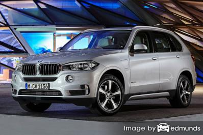 Insurance quote for BMW X5 eDrive in Colorado Springs