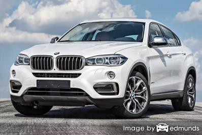Insurance rates BMW X6 in Colorado Springs
