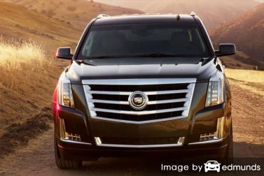 Insurance rates Cadillac Escalade in Colorado Springs