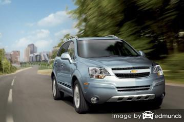 Insurance quote for Chevy Captiva Sport in Colorado Springs
