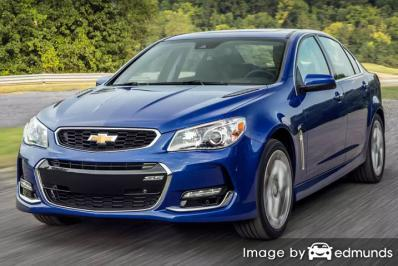 Insurance quote for Chevy SS in Colorado Springs