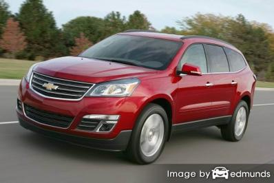 Insurance quote for Chevy Traverse in Colorado Springs