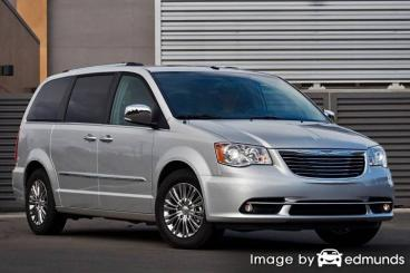 Insurance quote for Chrysler Town and Country in Colorado Springs