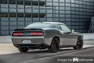 Insurance rates Dodge Challenger in Colorado Springs