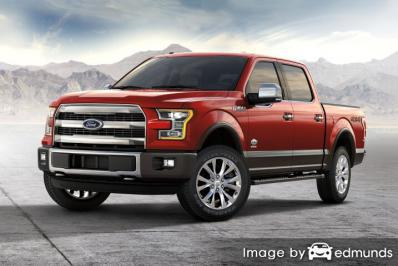 Insurance rates Ford F-150 in Colorado Springs