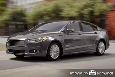 Insurance quote for Ford Fusion Hybrid in Colorado Springs