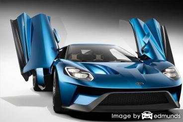 Insurance rates Ford GT in Colorado Springs