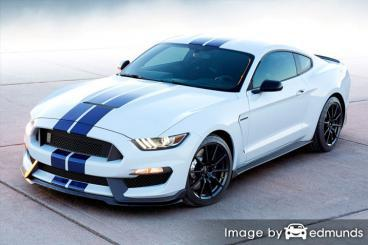 Insurance rates Ford Shelby GT350 in Colorado Springs