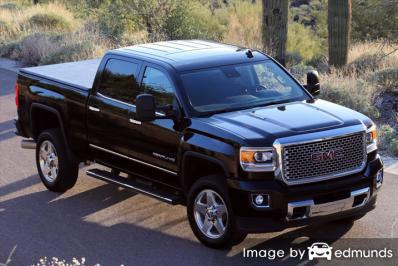 Insurance quote for GMC Sierra 2500HD in Colorado Springs