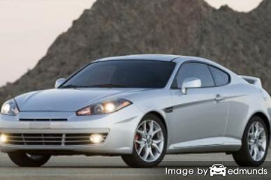 Insurance quote for Hyundai Tiburon in Colorado Springs