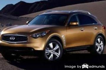 Insurance quote for Infiniti FX35 in Colorado Springs
