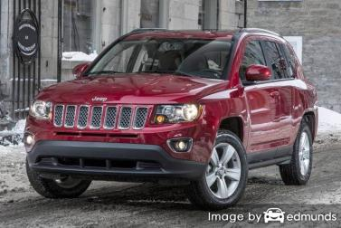 Insurance quote for Jeep Compass in Colorado Springs