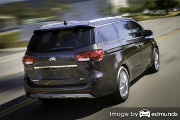 Insurance rates Kia Sedona in Colorado Springs