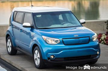 Insurance rates Kia Soul EV in Colorado Springs