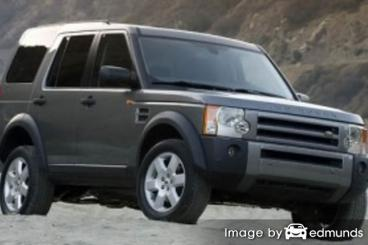 Insurance for Land Rover LR3