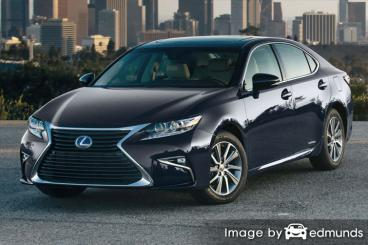 Insurance quote for Lexus ES 300h in Colorado Springs