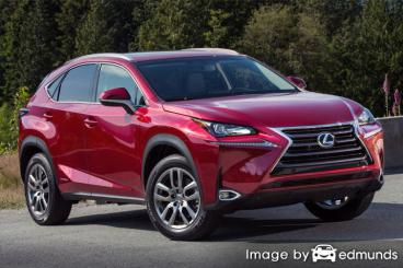Insurance rates Lexus NX 300h in Colorado Springs