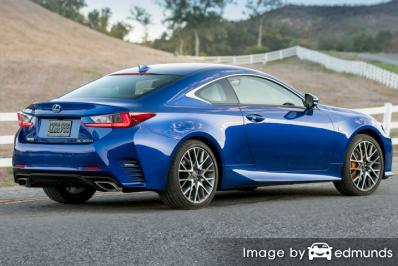 Insurance quote for Lexus RC 200t in Colorado Springs