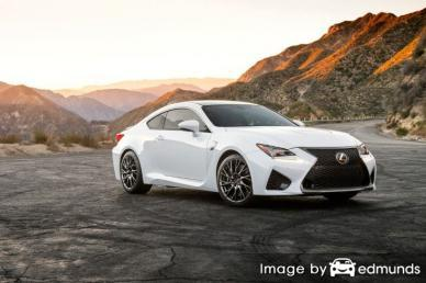Insurance rates Lexus RC F in Colorado Springs