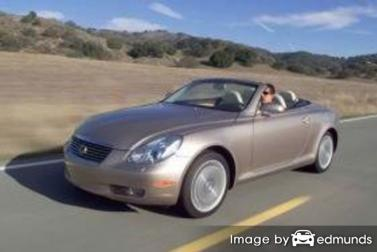 Discount Lexus SC 430 insurance
