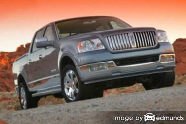 Insurance rates Lincoln Mark LT in Colorado Springs