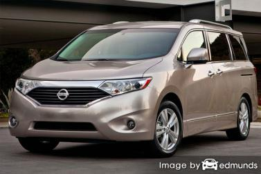 Insurance rates Nissan Quest in Colorado Springs