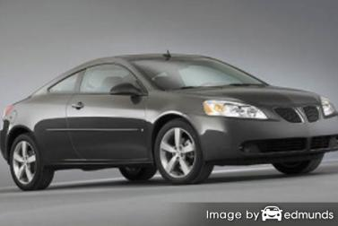 Insurance quote for Pontiac G6 in Colorado Springs
