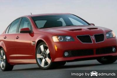 Insurance rates Pontiac G8 in Colorado Springs