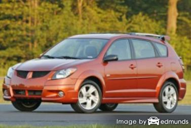 Discount Pontiac Vibe insurance