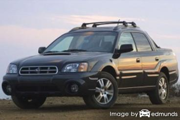 Insurance quote for Subaru Baja in Colorado Springs
