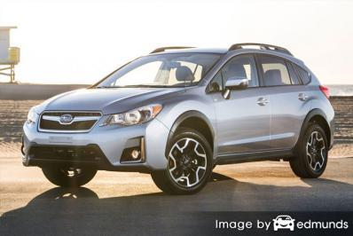 Insurance quote for Subaru Crosstrek in Colorado Springs