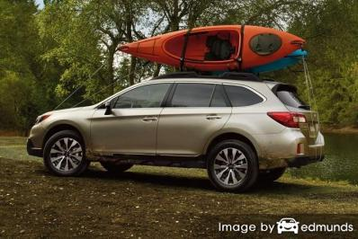 Insurance quote for Subaru Outback in Colorado Springs