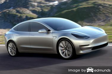 Insurance rates Tesla Model 3 in Colorado Springs