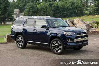 Insurance rates Toyota 4Runner in Colorado Springs
