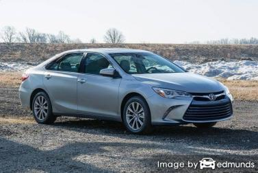 Insurance rates Toyota Camry in Colorado Springs