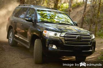 Insurance quote for Toyota Land Cruiser in Colorado Springs