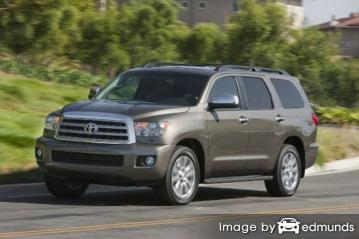 Insurance quote for Toyota Sequoia in Colorado Springs