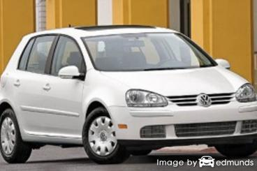 Insurance rates Volkswagen Rabbit in Colorado Springs