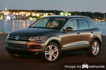 Insurance quote for Volkswagen Touareg in Colorado Springs